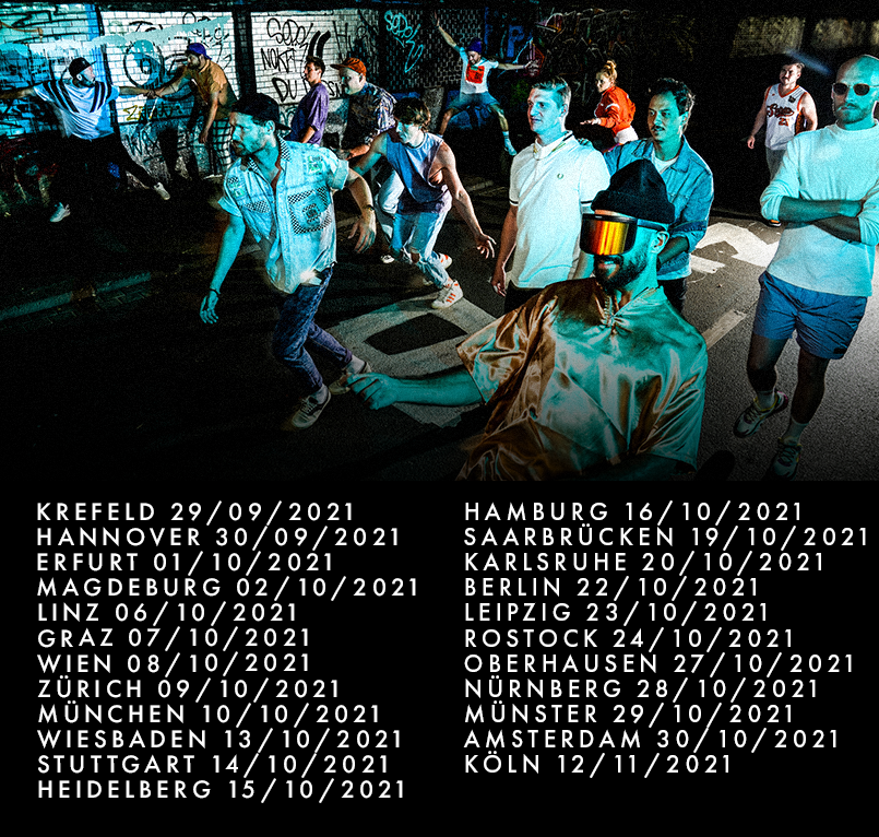 Querbeat Radikal Positiv Tour 2021 Tickets Live schmal kurz no button